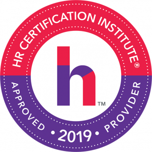 HR Certification Institute, Approved Provider 2019 Seal